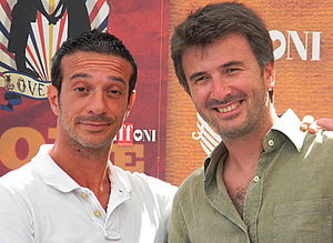 Ficarra e Picone - Salvo Ficarra and Valentino Picone at the 2010 Giffoni Film Festival.