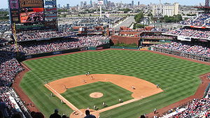Sports in Philadelphia - Citizens Bank Park, home of the Philadelphia Phillies