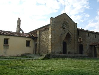 San Francesco Monastery (Fiesole) - Exterior and entrance to the monastery