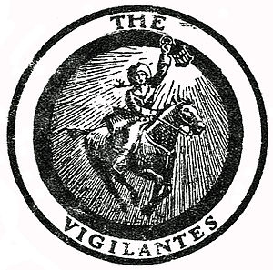The Vigilantes seal from the cover of Fifes an...