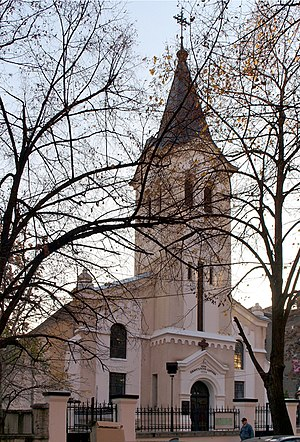 Protestantism in Bulgaria - First Evangelical Church in Sofia (established 1864)