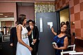 First Lady Michelle Obama greets Sherri Shepherd of The View.jpg
