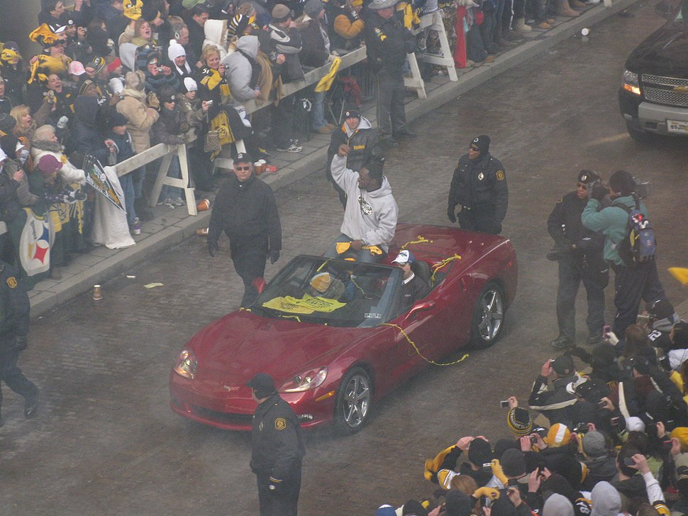 First Tomlin in Victory Parade