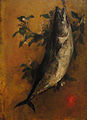 Fish (decorative panel) by John La Farge, 1865 - Fogg Art Museum - DSC02400.JPG