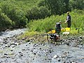 Fishery Biologists at Work. - geograph.org.uk - 430113.jpg