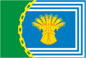 Chesmensky District - Image: Flag of Chesmensky rayon (Chelyabinsk oblast)