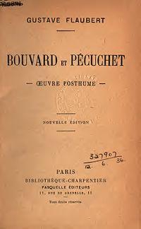 Bouvard et Pécuchet cover