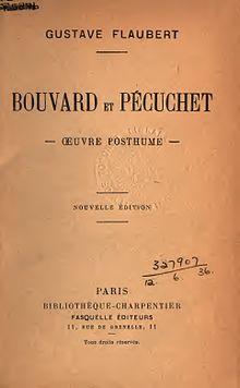 Frontespizio di Bouvard et Pécuchet