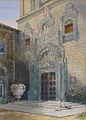 Fletcher-Watson Pilfold - Watercolor - Toledo, Entrance to Hospital for Children - 35x25cm.jpg