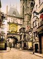 Flickr - …trialsanderrors - The great clock, Rouen, Normandy, France, ca. 1897.jpg