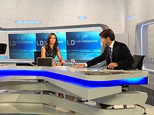 RTVE - Studio of TVE's flagship show, Los Desayunos de TVE