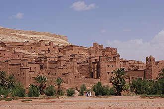 North Africa - The kasbah of Aït Benhaddou in Morocco