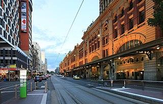 street in Melbourne