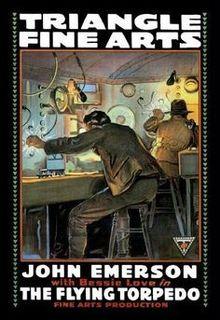 <i>The Flying Torpedo</i> 1916 silent film by John B. OBrien, Christy Cabanne