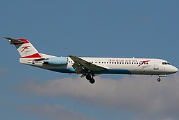 Fokker 100 (F-28-0100), Austrian Arrows (Tyrolean Airways) AN1117061.jpg