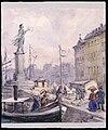 Folk som promenerar på Skeppsbron. Fritz von Dardel - Nordiska Museet - NMA.0043716.jpg
