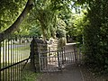Footpath by Horbury Cemetery - geograph.org.uk - 846980.jpg