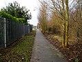 Footpath linking Magazine Road and Magazine Lane - geograph.org.uk - 1766768.jpg