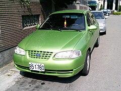 Facelift Ford Festiva Sedan Taiwan