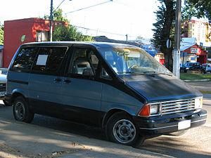 Ford Aerostar - 1987 Ford Aerostar XLT