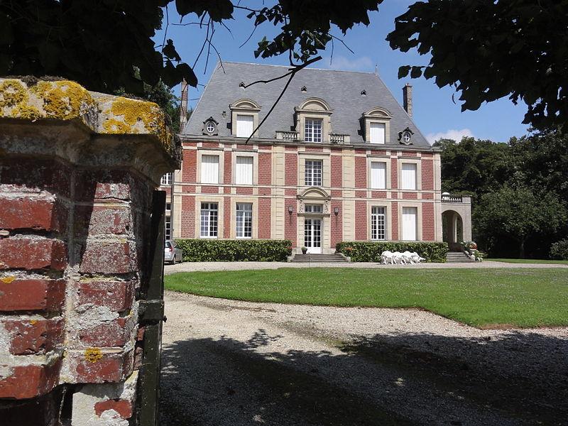 File:Foreste (Aisne) château à Auroir.JPG