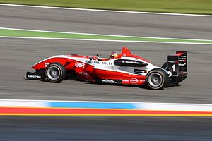 Jules Bianchi - Bianchi during the opening round of the 2009 Formula 3 Euro Series season at Hockenheim