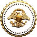 Former Vice Presidential Service identification badge.png