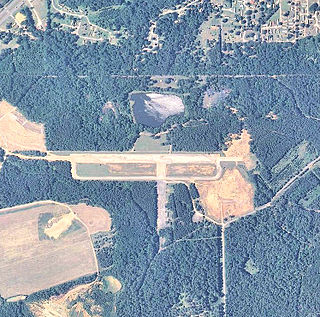 Fort McClellan Army Airfield airport in Alabama, United States of America