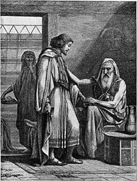 Image Result For Isaac Blesses Jacob
