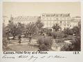 Fotografi från Hôtel Gray et d'Albion, Cannes - Hallwylska museet - 107219.tif