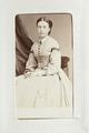 Fotografiporträtt på Helena Bruzelius, 1860-tal - Hallwylska museet - 107625.tif