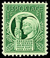 Four Freedoms 1c 1943 issue U.S. stamp.jpg