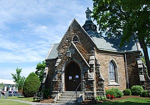 English: Memorial Hall, Foxborough, Massachusetts