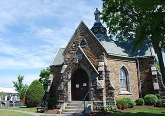 Memorial Hall (Foxborough, Massachusetts) - Image: Foxborough Hall