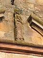 Fr Moselle Hesse Eglise abbatiale sculpture fronton.JPG