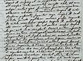 Fragment of Lomonosov s letter to Leonard Eiler VII 5 1748.jpg