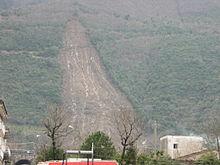 La frana di colamento di Nocera Inferiore del 2005.