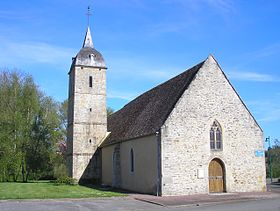 L'église Saint-Pierre-et-Saint-Paul.