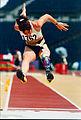 Frances Stanley in Athletics Field, Australian athletes at the Atlanta 1996 Paralympic Games..jpg