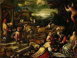 Francesco Bassano the Younger: Summer (June, July, August)