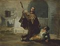 Francisco de Goya - Friar Pedro Clubs El Maragato with the Butt of the Gun.jpg