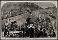 Franco-Prussian War; wounded brought to Paris by canal boats Wellcome V0015457.jpg