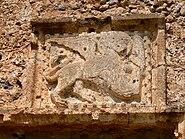 Frangokastello Kastell - Eingangstor Löwe