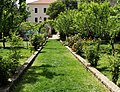 Franjevački samostan na Visovcu, vrt.jpg