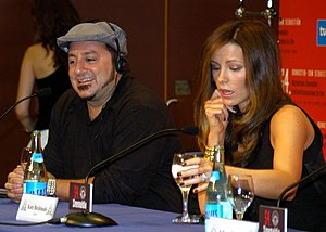 Frank Coraci - Coraci and Kate Beckinsale at the San Sebastián International Film Festival in 2005