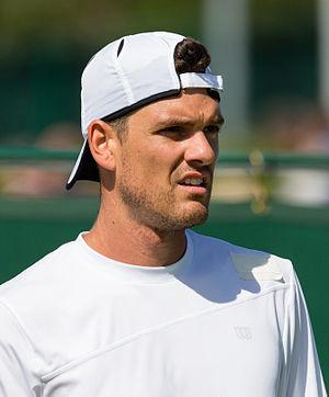 Frank Dancevic - Image: Frank Dancevic 2, 2015 Wimbledon Qualifying Diliff