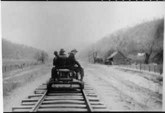 Harlan County, Kentucky - Franklin D. Roosevelt in Harlan County, 1908