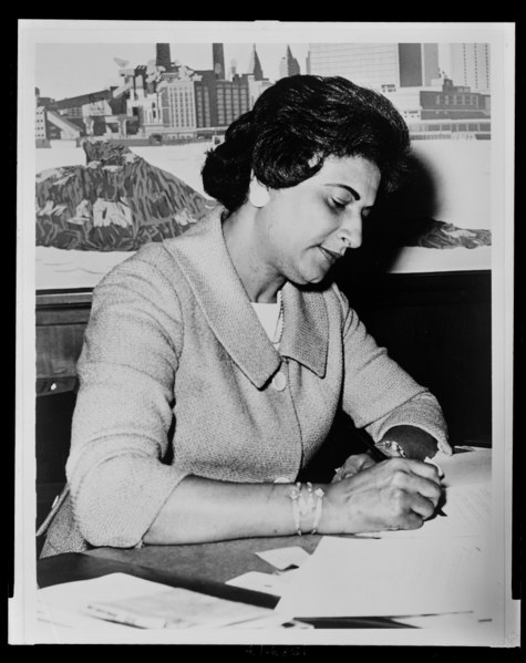 Constance Baker Motley<br>Photo from Wikipedia