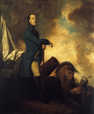 Spanish invasion of Portugal (1762) - The Count of Schaumburg Lippe, commander of the Anglo-Portuguese forces that thrice defeated the Spanish and French offensives against Portugal. Painting by Joshua Reynolds.