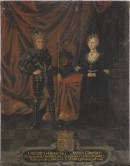 Fredrik I, 1471-1533, kung av Danmark och Norge och Anna, 1487-1514,  prinsessa av Brandenburg